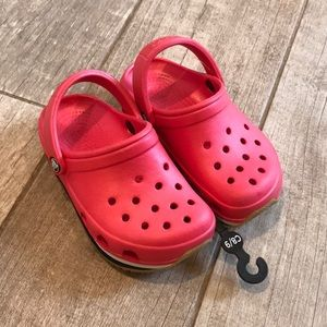 New Red Crocs Child Kid Toddler Size 8 9 C8/9